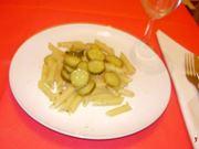 Pennette con le zucchine