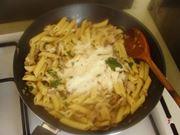 aggiungere parmigiano e prezzemolo
