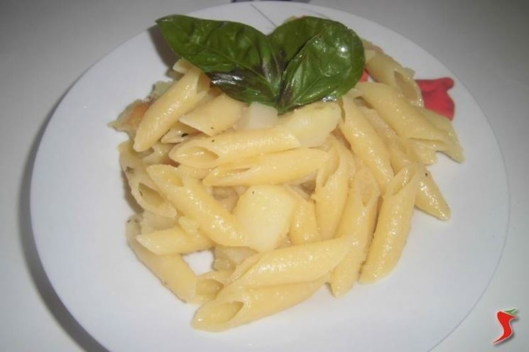 Penne in bianco con patate