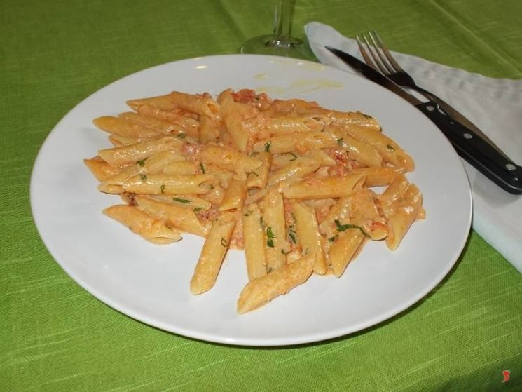 Le penne in salsa rosa