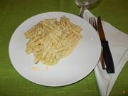 Le penne ai quattro formaggi