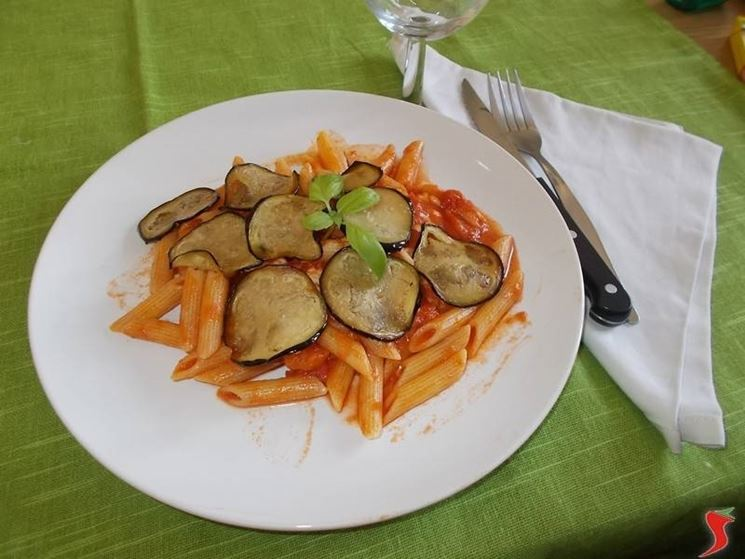 Le penne alla siciliana