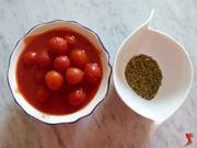pomodori e origano