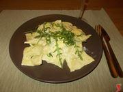 I ravioli al gorgonzola