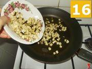 La cottura della melanzana