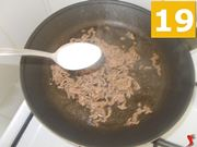 Terminate la cottura della carne