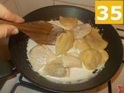 Terminate la cottura dei ravioli