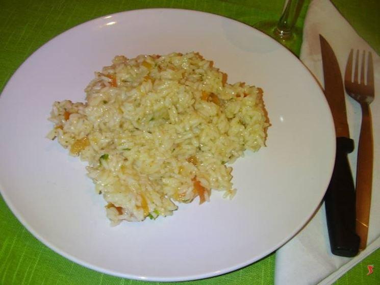 Il risotto ai pomodori freschi