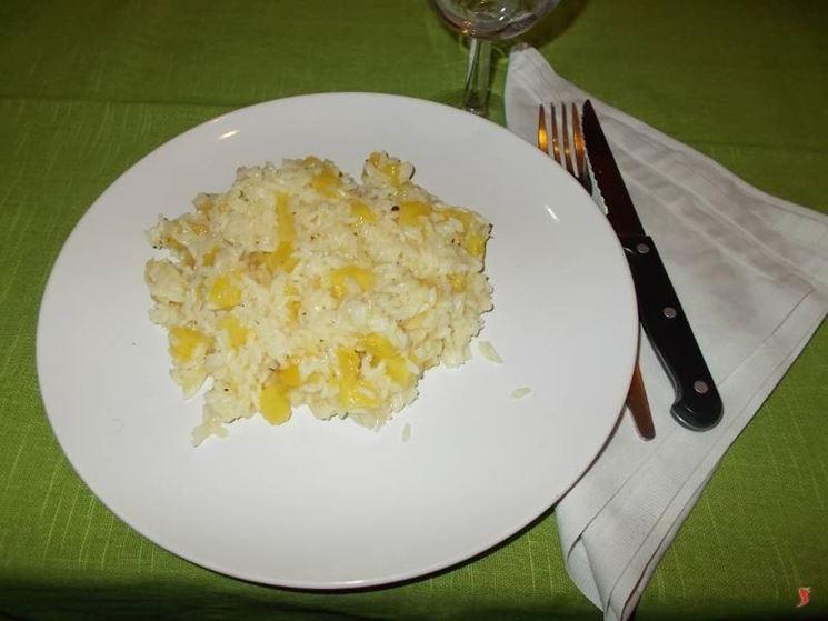 risotto ananas
