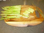 taglio asparagi
