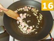 La cottura della pancetta