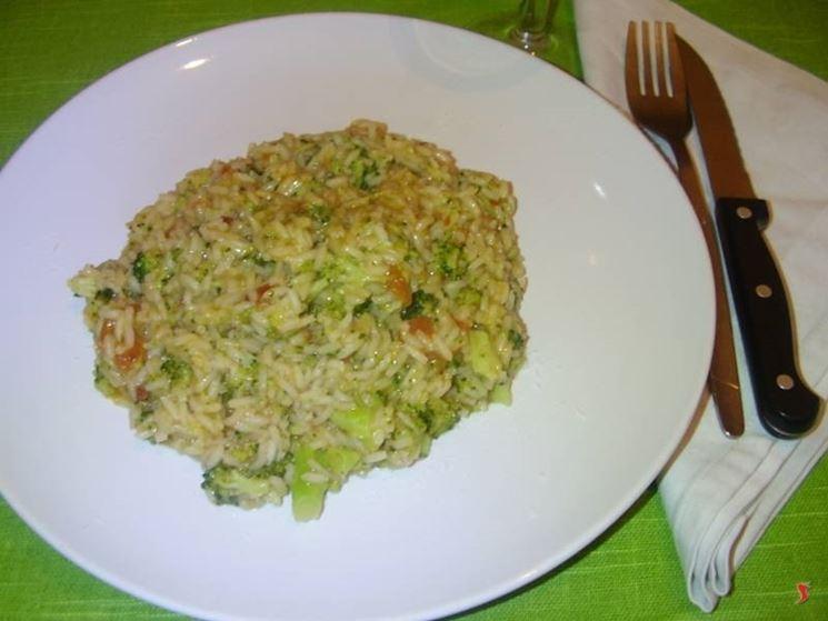 Il risotto ai broccoli