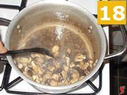 La cottura dei funghi