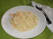 Il risotto ai gamberetti