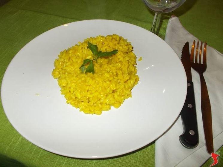 Il risotto al curry