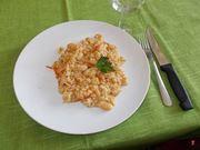 Il risotto con i fagioli