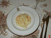 Il risotto ai fiori di zucca