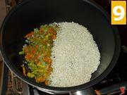 La tostatura del riso e i fiori di zucca