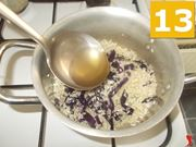La cottura del risotto