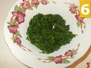 Tritare gli spinaci