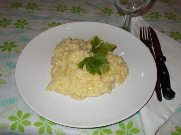 Il risotto allo spumante