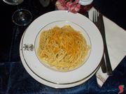 Gli spaghetti con la bottarga