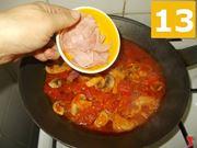 Terminare la cottura del condimento