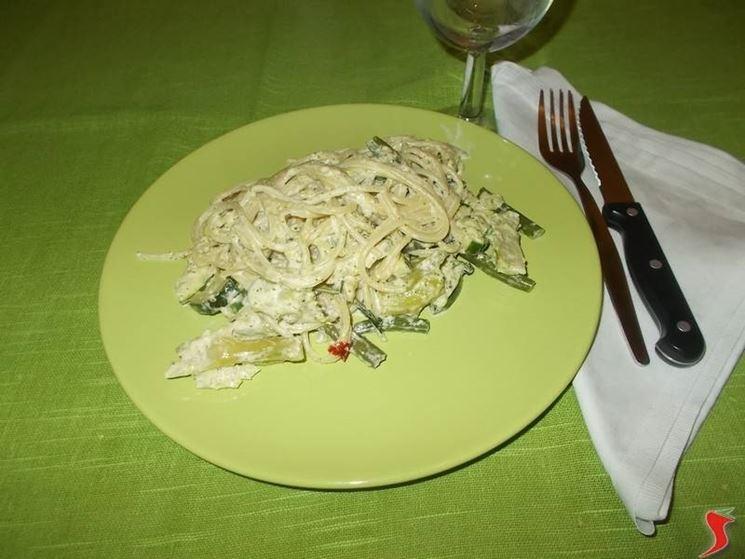 Una ricetta per gli spaghetti