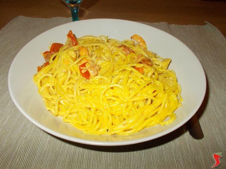 La ricetta degli spaghetti con gamberi