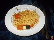Gli spaghetti con acciughe e pangrattato