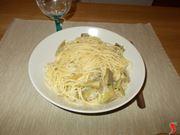 Gli spaghetti ai carciofi