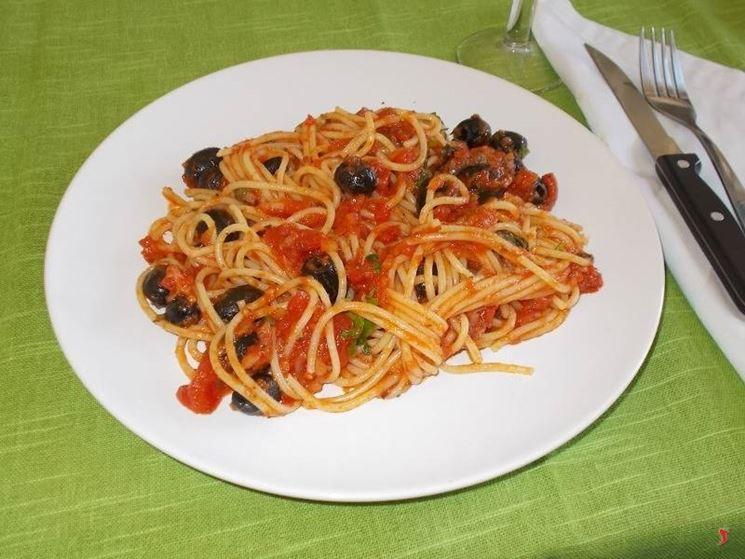 Gli spaghetti alla pizzaiola
