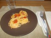 Spaghetti con lo speck