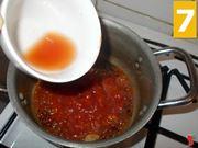 Cuocete la salsa