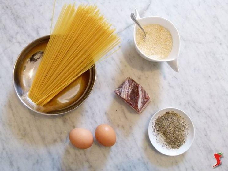 ingredienti per fare la carbonara