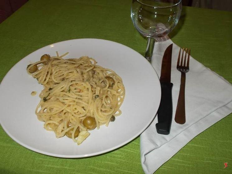 Gli spaghetti alle alici