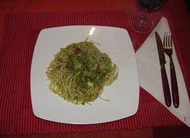 spaghetti con broccoli