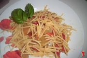 spaghetti con la cucuzzella
