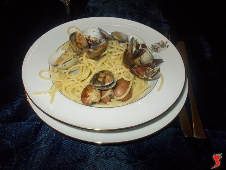 Gli spaghetti con le vongole