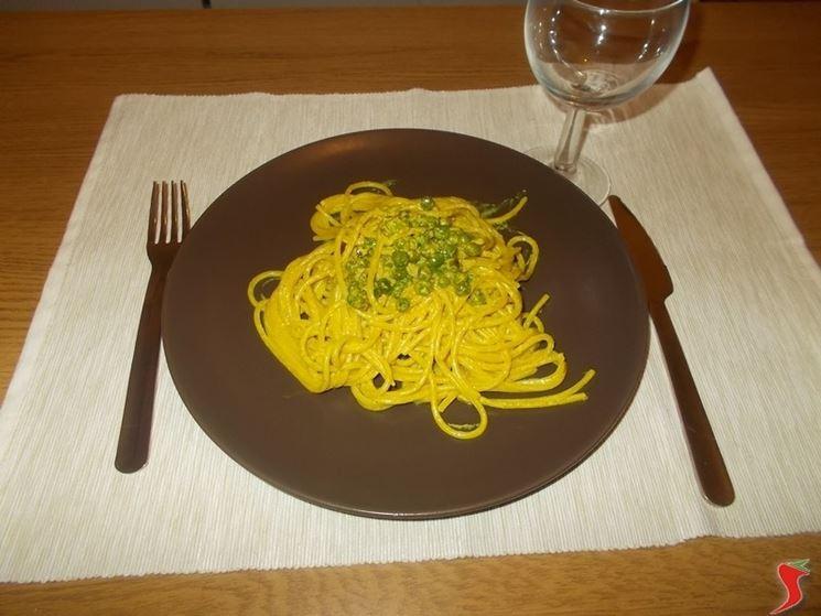 Gli spaghetti al curry