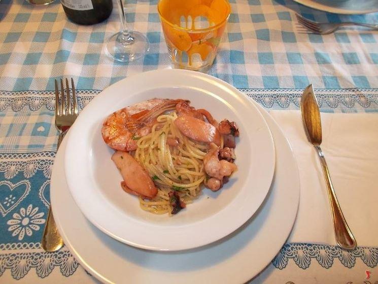 Gli spaghetti di mare