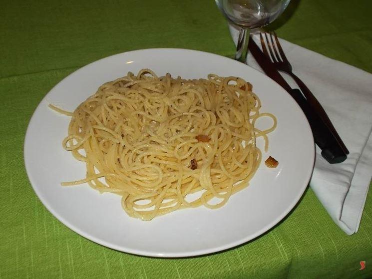 La pasta alla gricia