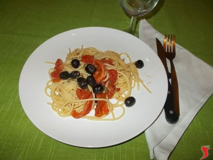 Gli spaghetti alla napoletana