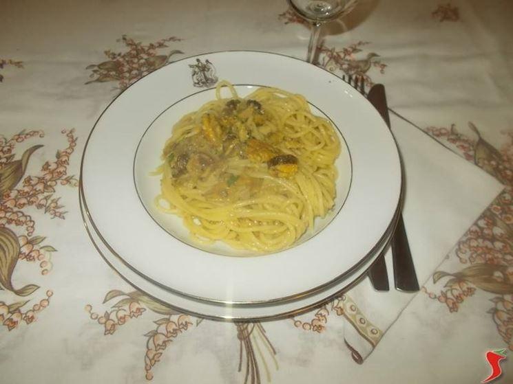 Gli spaghetti con le sarde