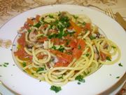 spaghetti con le seppie