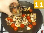 La cottura dei pomodorini