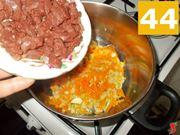 Cuocete la carne