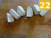 tagliare La mozzarella