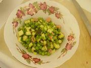 verdure e pancetta