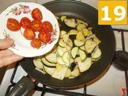 Terminare la cottura delle verdure